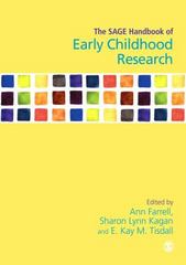 The SAGE Handbook of Early Childhood Research 1st Edition 9781446272190 1446272192