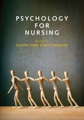 Psychology for Nursing 1st Edition 9780745671499 0745671497