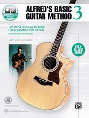 Alfred's Basic Guitar Method, Bk 3 3rd Edition 9781470631413 1470631415