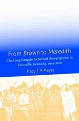From Brown to Meredith 1st Edition 9781469627250 1469627256