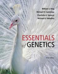 Essentials of Genetics Plus MasteringGenetics with eText -- Access Card Package 9th Edition 9780134047201 0134047206