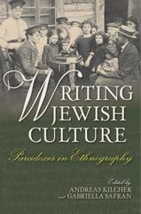 Writing Jewish Culture 1st Edition 9780253019585 0253019583