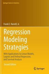 Regression Modeling Strategies 2nd Edition 9783319194240 3319194240