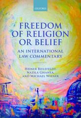 Freedom of Religion or Belief 1st Edition 9780198703983 0198703988