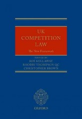 UK Competition Law: The New Framework 1st Edition 9780198757245 0198757247