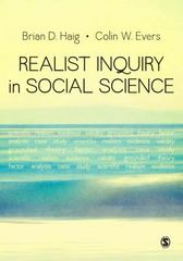 Realist Inquiry in Social Science 1st Edition 9781446258842 144625884X