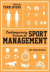 Contemporary Issues in Sport Management 1st Edition 9781446282199 1446282198