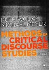 Methods of Critical Discourse Studies 3rd Edition 9781446282410 1446282414