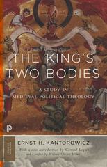 The King's Two Bodies 1st Edition 9780691169231 0691169233