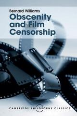 Obscenity and Film Censorship 1st Edition 9781107534407 1107534402