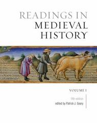 Readings in Medieval History 5th Edition 9781442634336 1442634332