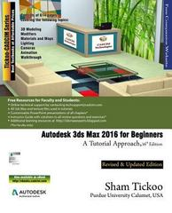 Autodesk 3ds Max 2016 for Beginners 16th Edition 9781942689058 1942689055