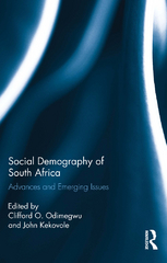 Social Demography of South Africa 1st Edition 9781317818007 1317818008