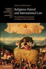 Religious Hatred and International Law 1st Edition 9781107124172 1107124174