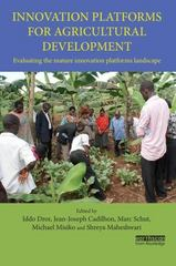 Innovation Platforms for Agricultural Development 1st Edition 9781138181717 1138181714