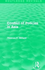 Conflict of Policies in Asia 1st Edition 9781317275527 1317275527