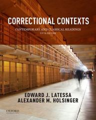 Correctional Contexts 5th Edition 9780190280710 0190280719