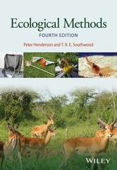 Ecological Methods 4th Edition 9781118895276 1118895274