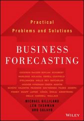 Business Forecasting 1st Edition 9781119224563 111922456X