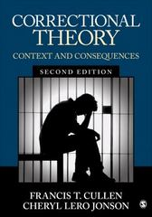 Correctional Theory 2nd Edition 9781506306520 1506306527
