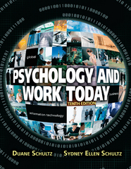 Psychology and Work Today 10E 10th Edition 9781317350811 1317350812