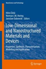 Low-Dimensional and Nanostructured Materials and Devices 1st Edition 9783319253381 3319253387