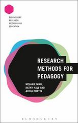 Research Methods for Pedagogy 1st Edition 9781474242820 1474242820