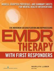 EMDR with First Responders 1st Edition 9780826132222 0826132227