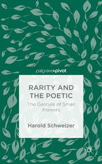 Rarity and the Poetic 1st Edition 9781137589293 1137589299