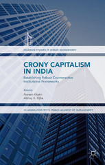 Crony Capitalism in India 1st Edition 9781137582867 1137582863