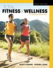 Total Fitness & Wellness, The MasteringHealth Edition, Brief Edition Plus MasteringHealth with eText -- Access Card Package 5th Edition 9780134378251 0134378253