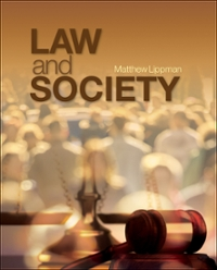 Law and Society 1st Edition 9781483309941 1483309940