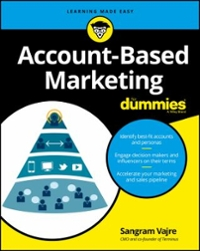 Account-Based Marketing For Dummies 1st Edition 9781119224853 1119224853