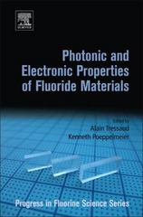 Photonic and Electronic Properties of Fluoride Materials 1st Edition 9780128017951 0128017953