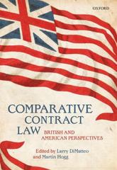 Comparative Contract Law 1st Edition 9780191044441 019104444X