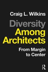 Diversity among Architects 1st Edition 9781138900462 113890046X