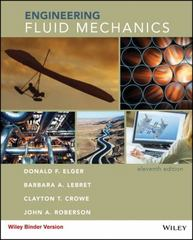 Engineering Fluid Mechanics 11th Edition 9781118880500 1118880501