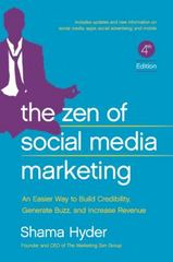 Zen of Social Media Marketing 3rd Edition 9781942952060 1942952066