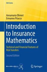 Introduction to Insurance Mathematics 2nd Edition 9783319213774 3319213776