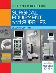 Surgical Equipment and Supplies 2nd Edition 9780803645714 0803645716