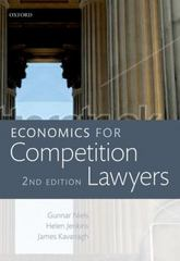 Economics for Competition Lawyers 2e 2nd Edition 9780198717652 0198717652