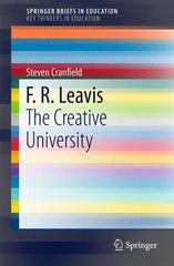 F. R. Leavis 1st Edition 9783319259857 3319259857