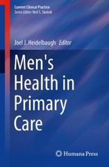 Men's Health in Primary Care 1st Edition 9783319260891 3319260898