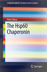 The Hsp60 Chaperonin 1st Edition 9783319260860 3319260863