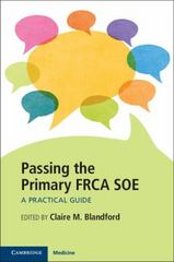 Passing the Primary FRCA SOE 1st Edition 9781107545809 1107545803