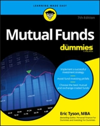 Mutual Funds For Dummies 7th Edition 9781119215516 111921551X