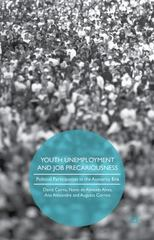 Youth Unemployment and Job Precariousness 1st Edition 9781137562791 113756279X