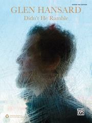 Glen Hansard -- Didn't He Ramble 1st Edition 9781470631871 1470631873