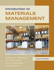 Introduction to Materials Management 8th Edition 9780134156323 0134156323