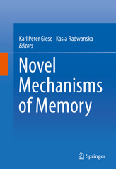 Novel Mechanisms of Memory 1st Edition 9783319243641 3319243640